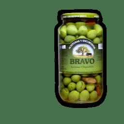 Aceitunas chupadedos Bravo Alimentos de Andalucia Malaga