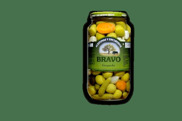 Aceitunas gazpacha Alimentos de Andalucia Malaga